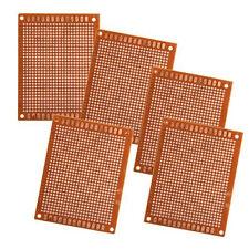5 Leiterplatte Platinen PCB Board Lochrasterplatine 90x70mm GY X0B1
