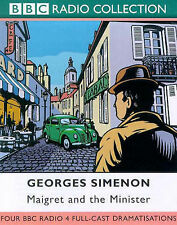 audio book 2 cassettes georges simenon maigret and the minister bbc full cast