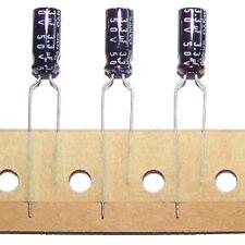 Lot of 12 Sanyo Electrolytic Capacitors 3.3uF 50V