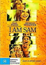 I AM SAM - BRAND NEW & SEALED DVD (MICHELLE PFEIFFER, SEAN PENN, DAKOTA FANNING)