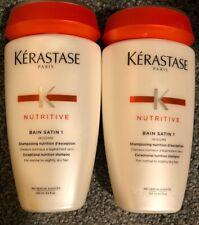 KERASTASE Nutritive Bain Satin 1 Shampoo Dry Hair, Shine (2 Pack) $14.99 EA