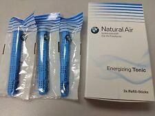 Genuine BMW Natural Air Car Freshener Refill Kit - Energizing Tonic 83122285675