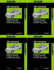 2008 Toyota Camry Shop Service Repair Manual Complete Set
