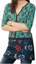 Next Women's Semi Fitted V Neck Tunic, Kaftan Tops & Shirts