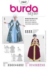 BURDA COUTURE motif femme robe ROCOCO & jupon 2447