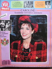 POINT DE VUE N° 2015 CAROLINE DE MONACO MODE LADY DIANA PRINCESSE PAOLA 1987