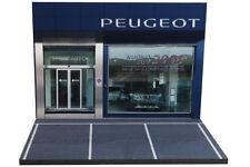 "Diorama garage Peugeot ""Nuovo SUV 3008"" - 1/43ème - #43-2-B-B-043"