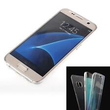 TPU Crystal Clear Cover Full Body Protective Case Skin For Samsung Galaxy S7