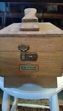 Collectable Vintage Shoeshine box Griffin Shinemaster