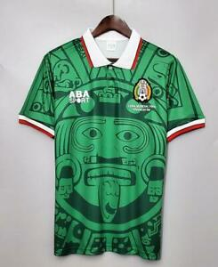 ABA Sport Mexico 1998 World Cup Soccer Jersey - L Size