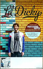 LIL DICKY Professional Rapper Ltd Ed RARE Tour Poster +FREE Hip-Hop Poster Earth