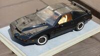 ERTL 1:18 Black Knight Rider KITT Pontiac Trans Am Toy Car David Hasselhoff