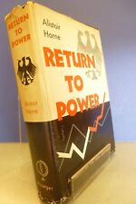 Return to Power by Alistair Horne - Hard Cover Book A report on the New Germany