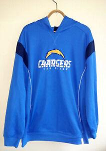 Reebok San Diego Chargers Authentic NFL Hoodie Sweatshirt Men's Size: XXL