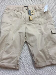 Lee Relaxed Fit Women Skimmer Size 24W Medium BEIGE Color, Just Bellow The Waist