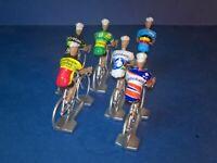 Lot de 6 cyclistes Sven Nys Cyclo Cross - Veldcross - Cycling figure