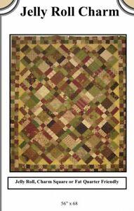 """Quilt, Sew, Fabric Kit Jelly Roll Charm   56"""" x 68"""" TT Batiks Tonga Treats"""