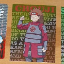 NARUTO CARD PRISM CARTE IL.005 CHOUJI RARE ENSKY MADE IN JAPAN 2007 **