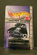 """Custom HotWheels NOVA and package of  """"Movie Metal""""  DEATH PROOF grindhouse"""