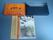 MC LED ZEPPELIN II Super Group ATLANTIC 1972   Musikkassette Tape Kassette RAR