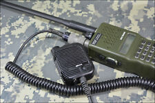 Speaker Mic for PRC 148 117 TRI 152 mbitr Radio(US ARMY,USMC,otto,Delta,ops core