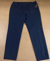 Alfani Women's Size 16 Modern Navy Comfort Waist Skinny Leg Pants NWT