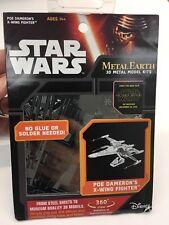 Fascinations Metal Earth Star Wars Poe Dameron's X-Wing Fighter 3D Metal Model