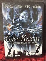 Grey Knight L'Esercito delle Tenebre DVD Nuovo Sigillato Thornton Sheen N