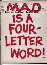 MAD #163  F, Fold-in is NOT folded, EC Comics Magazine 1973