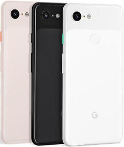 64/128GB Google Pixel 3(Unlocked)5.5' Android Smartphone 4G-LTE Black-White-Pink