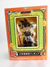 Ichiban Kuji Dragon Ball World Kid Boy D prize Son Goku Figure Banpresto Japan