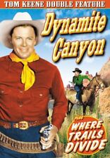 Tom Keene Double Feature: Dynamite Canyon (1941) /Where Trails Divide NEW DVD