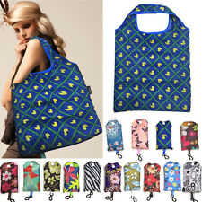 Foldable Handy Shopping Bag Reusable Tote Pouch Recycle Storage Handbags lp