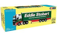 CORGI 60TH ANNIVERSAIRE Unit-CC16002 1/50 VOLVO FH Curtainside Eddie Stobart