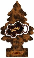 Little Trees Car Air Freshener Leather 10 Pack