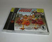 Chicken Run (Sega Dreamcast, 2000) Complete CIB Good Shape w/ Registration Card