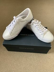 Tommy Hilfiger Shoes White Sneakers Womans Size 6