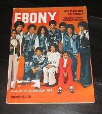 Michael Jackson 5 Five 1974 Ebony magazine PHOTO Teresa Graves JANET Count Basie