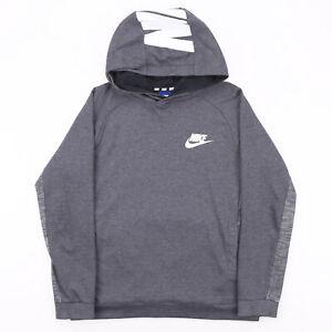 NIKE  Grey Sports Pullover Hoodie Boys XL