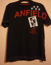 LIVERPOOL FOOTBALL CLUB EUROPEAN CUP CHAMPIONS LEAGUE T SHIRT SIZE M ANFIELD VGC