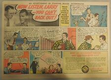 Fleischmann's Yeast Ad: Now Listen Larry You Can't Back Out! Pimples! 1930's