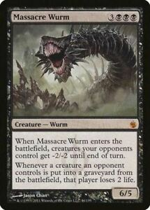 Massacre Wurm [Mirrodin Besieged]