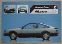 Velours Autoteppiche Opel Monza Bj 1978-1986 Kofferraumtasche L