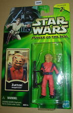 Star Wars 2001 ZUTTON SNAGGLETOOTH POTJ  MOC