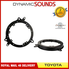 CT25TY16 Front And Rear Door Car Speaker Adaptor Rings for Toyota CH-R 2018 On