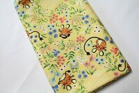 Cotton Fabric blooming flower by the yards 44 Wide Cozy blooming Sweet laceking