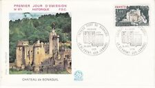 Enveloppe 1er jour FDC n°971 - 1976 : Château de Bonaguil