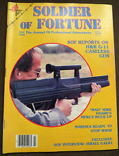 Soldier of Fortune Magazine- March 1982, Rare, Antique Back Issue