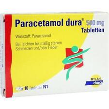 Paracetamolo dura 500 mg compresse 10st compresse PZN 6714516