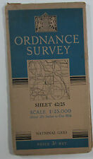 1949 OS Ordnance Survey 1:25000 1st Series Map SP 25 Stratford-upon-Avon E 42/25